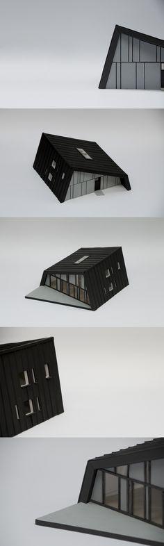 Modern city house concept https://www.behance.net/gallery/35987455/Modern-city-house