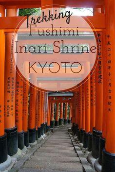 Trekking Through 10,000 Torii at Fushimi Inari Shrine Kyoto  with kids - Japan with kids - theworldisabook.com #familytravel