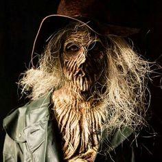 actually scary scarecrow.