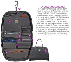 """""""It's like packing your closet but better because it's neat and mobile."""" - LA Times LAMOVE Mobile Closet #MaxMirani"""