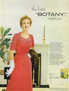 Botany no dye-lot yarn advert