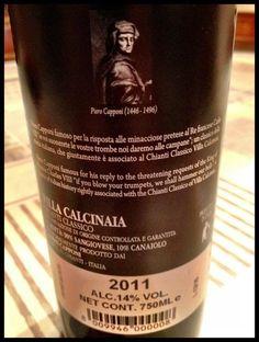 El Alma del Vino.: Villa Calcinaia Conti Capponi Chianti Classico 2011.