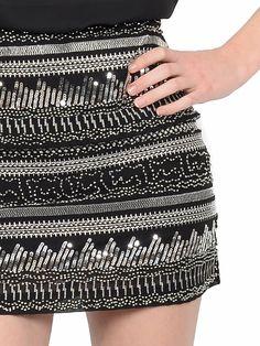 Skirt Molly Bracken Spring Summer 2017 #sequins #skirt