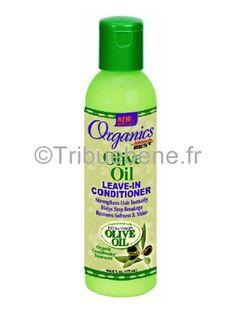 L'après-shampoing ORGANICS Olive Oil Leave In Conditioner d'Africa's Best est fortifié et enrichi avec huile d'olive vierge, ce bijou va au-delà du conditionnement en atteignant un niveau plus élevé d'hydratation des cheveux, le renforcement et la revitalisation.
