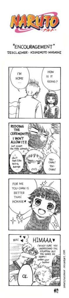 Naruto Doujinshi - Encouragement by SmartChocoBear on @DeviantArt