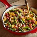 Ham, Asparagus & Potato Skillet