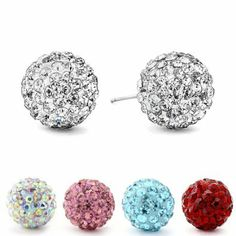 Authentic stud earrings