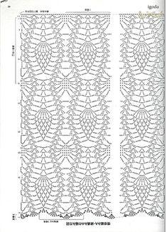 creating pineapple crochet stitch 5