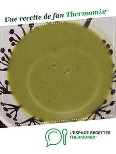 velouté de brocolis boursin par sarahetbenoit. Une recette de fan à retrouver dans la catégorie Soupes sur www.espace-recettes.fr, de Thermomix<sup>®</sup>.
