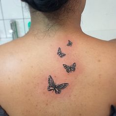 Pin for Later: 27 Adorable Tattoos That Are Appropriate For Work Spread Your Wings