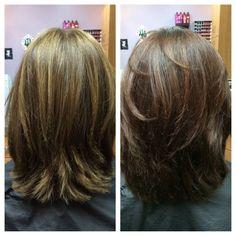 Photos for Ayla Davis at Sola Salon | Yelp #ayladavis #ayla #willowglen #95125 #sanjose #408 #bayarea #salon #hairsalon #solasalon #solasalons #solasalonstudios #solasalonwillowglen #solasalonswillowglen #hair #hairstyle #hairstylist #hairdresser #beautician #cosmetologist #style #stylist #beforeafter #haircolor #colorcorrection #brunette
