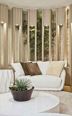 Fun living room style and decoration ideas: Are you remodeling your living room? Discover living room tips and style inspiration from a variety of living rooms, including theme, decor, and color. Click the link for more. Home Living Room, Living Room Designs, Living Room Decor, Living Area, Home Interior Design, Interior Architecture, Interior And Exterior, Decoration Inspiration, Decoration Design