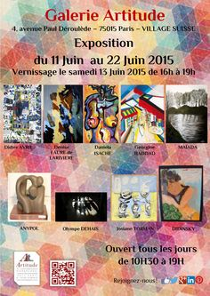#vernissage #art #artitude # paris #13juin