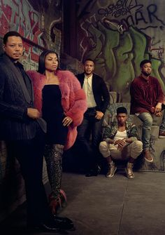Terrence Howard, Taraji P. Henson, Trai Byers, Bryshere Gray and Jussie Smollett of Empire. Serie Empire, Empire Cast, Empire Fox, Lucious Lyon, Trai Byers, Epic Halloween Costumes, Empire Season 3, Hip Hop, Taraji P Henson