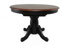 WIN-DQ14257AE - Winners Only Quails Run Pedestal Table | Mathis Brothers Furniture