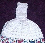 Cross Stitch Towel Topper - pattern