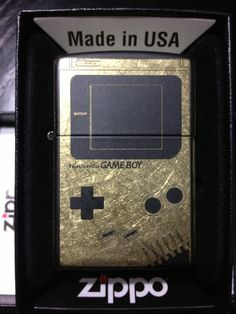 Game Boy Zippo Lighter on Etsy, $55.00