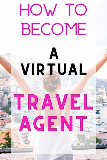 How to become a Virtual Travel Agent Live Simple, Travel Well: My first week as work from home online travel agent Virtual Travel, Travel Jobs, Online Travel Agent, Work Abroad, Person Sitting, One Week, Free Travel, Vacations, How To Become