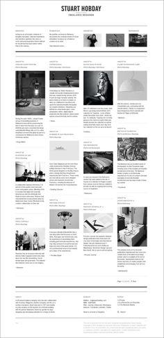 Stuart Hobday rad blog layout