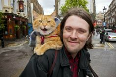 I USED TO BE SCARED OF CATS: Street Cat Named Bob