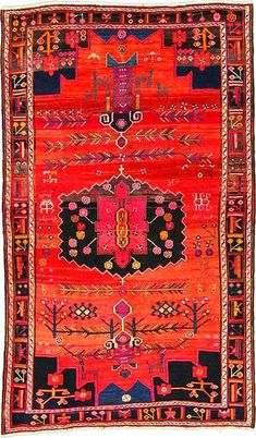 Persian perfection.  Rug from Hamadan, Iran.
