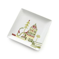 "Yule Town 8"" Plate  