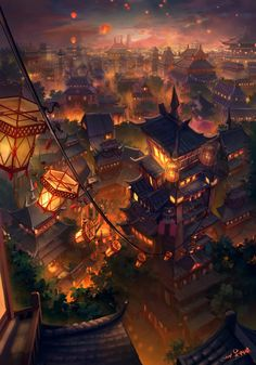 Old China Town. Good concept for designer