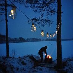 #sweden #summerhouse #winter
