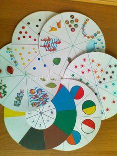 Развивающая игра для детей дошкольного возраста Волшебный круг Развивает: Процессы внимания; Мелкую моторику; Навыки счета; Пространственную ориентировку; Цветовосприятие; Навыки самоконтроля в процессе деятельности. Материалы и оборудование: 1. Разноцветные пластмассовые крышки от пластиковых бутылок среднего и большого размера. 2. Прищепки разного цвета. 2. Прозрачные емкости для хранения крышечек и прищепок. 3. Схемы с заданиями. Условия и ход игры: Для игры Вам нужно на...