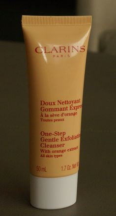 Clarins One-Step Gentle Exfoliating Facial Cleanser review