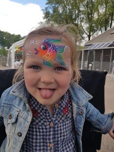 Visje. Week van het water  2017 Breda Schmink with joy