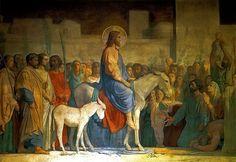 Hippolyte Flandrin: Entrada de Jesús en Jerusalén, 1842.
