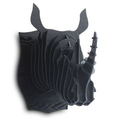 3D Faux Rhinoceros Head - my Husband would LOVE this!!!