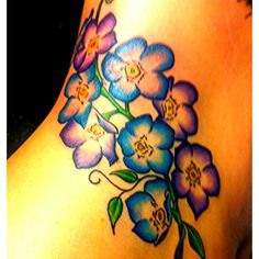forget me nots, the next addition to my tattoo : )