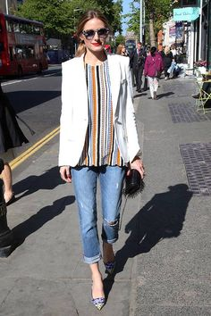 The Easiest Olivia Palermo Outfits to Copy for Work | Who What Wear