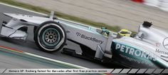 Monaco GP: Rosberg fastest for Mercedes after first free practice session