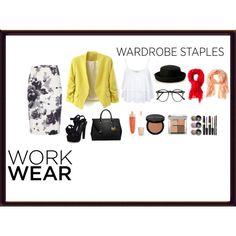"""Work Wear Staple"" by elmarachma on Polyvore"