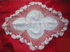 Vintage handmand Crochet Doilies cotton