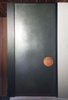 Get inspired by latest entrance door design trends . The ultimate guide to the handcrafted copper doors . Door Design Interior, Main Door Design, Front Door Design, Facade Design, Porte Design, Front Door Handles, Pivot Doors, Composite Door, Contemporary Doors