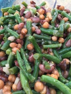 Three Bean Salad in