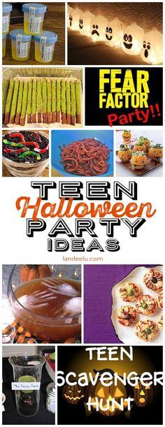 19 DIY Halloween Party Ideas for Teens DIY Halloween, Halloween - halloween party ideas for teenagers