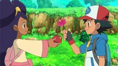 Pokemon Iris, Pokemon Fan, Ash And Dawn, Pokemon People, Cute Cartoon Wallpapers, Catch Em All, Anime, Manga Art, Pikachu