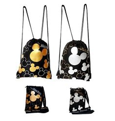 Disney Finds - Mickey Mouse Drawstrings Backpacks & Lanyards