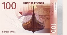 The Vikings, Fish and Sea Monsters: The Latest Flourish of Norwegian Krone Norway News, Journal Du Design, Central Bank, Notes Design, Lillehammer, Business Design, Beautiful Words, Beautiful Pictures, The 100