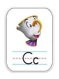 alphabet disney characters - Google Search