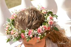 Rustykalny Wianek ślubny / Wianek ślubny w stylu boho / Rustykalne dekoracje ślubne od FollowMe DESIGN / Boho Wedding Flower Crown / Rustic Wedding Decorations & Details by FollowMe DESIGN