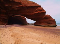 Morocco, Bruce and I went to this beach all the time!!!!!