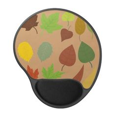 Autumn Leaves gel mouse pad