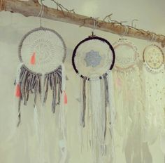 "Dreamcatchers made in ""my first box"" en boutique chez kaqoty et les squaws, 24 rue sainte ursule à Toulouse"