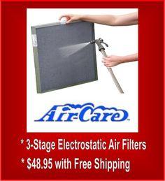 Electrostatic Furnace Filter